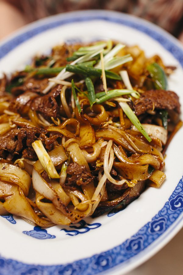 Stir Fried Beef Rice Noodle Who Does The Dishes