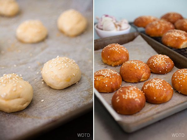 The preparation of the bun dough takes about 4 hours, so make sure to prepare this well in advance